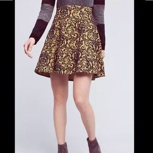 Anthropologie Skirts - Anthropologie Pattern Skirt ! 💚